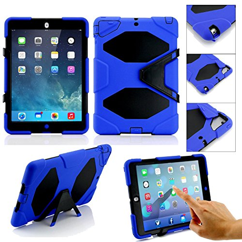 iPro Accessories® Apple ipad 2 survivor case, Tablet-Schutzhülle, Apple iPad Air 2, blau, Stück: 1 - Griffin Ipad Air 2 Apple Case