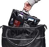 Ducomi® Organizzatore Per Borsa con 13 Tasche Capienti - Organizer Espandibile con Doppio Manico per Documenti, Telefono, Trucco, Chiavi a portata di Mano - Prodotto Originale Spedito da IT (Black)