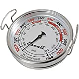Escali AHG2 X-Large Grill Surface Thermometer, Silver