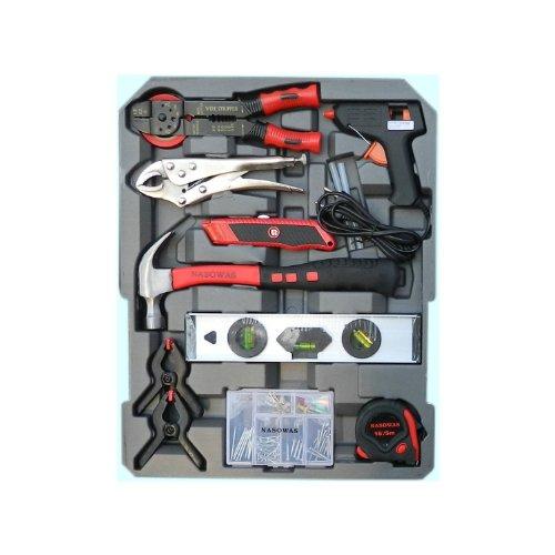 186 tlg. Werkzeug-Set mit RINGRATSCHEN im Trolley-Koffer Werkzeugkoffer CV - 4