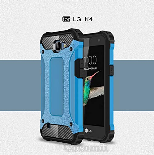 LG K4/Optimus Zone 3/Spree/Rebel, Blau (Dragon Ball Z Phone Case Lg G3)