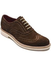 Alexander Hombre Jargo Ante Piel Brogue Zapatos de Oxfords Marrón Oscuro 81ea215a96d9