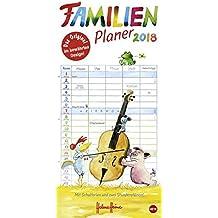 Helme Heine Familienplaner - Kalender 2018