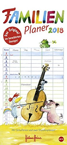 Helme Heine Familienplaner – Kalender 2018
