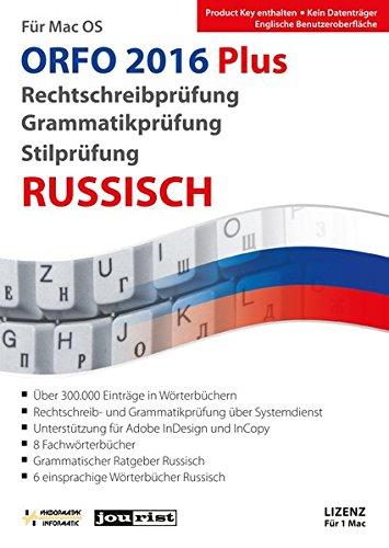 ORFO Plus 2016 Rechtschreib- und Grammatikprüfung Russisch für Mac OS (ORFO / Rechtschreib- und Grammatikprüfung Russisch)