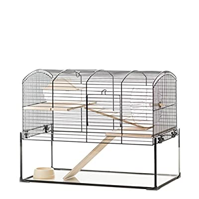 Little Friends Mayfair Gerbilarium Cage with Accessories, 51.5 x 28 x 40 cm from Little Friends