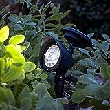 2er Set LED Solar Strahler Spotlight Lights4fun