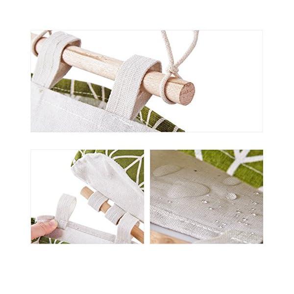 Chakil Bolsa de Almacenamiento balcón baño Armario Puerta y Ventana Cocina Tipo de Pared Colgando Bolsa de…
