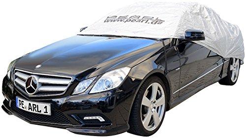 PEARL Abdeckplane Auto: Auto-Halbgarage für SUV & Kastenwagen, 410 x 140 x 65 cm (Allwetterschutz-Plane für Auto)