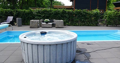 Dream Eclipse Outdoor Whirlpool Spa / Balboa Steuerung / 4 Personen / Dreammaker / Aussenwhirlpool / Indoor