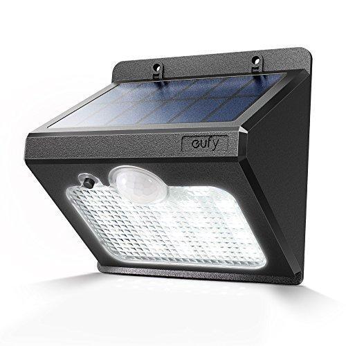 Eufy Solarlux 440 Wandleuchte Solarleuchte Super Helle Außenleuchte LED Lampe für Außenbereiche, Wasserfest, Bewegungssensor mit hoch effizienten SunPower Solarpanel und 22 LED Elementen