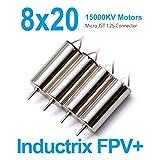 BETAFPV 820 Motor 8x20mm 15000KV Brushed Motors 2CW 2CCW JST-1.25 Connector Beta75s Frame Kit