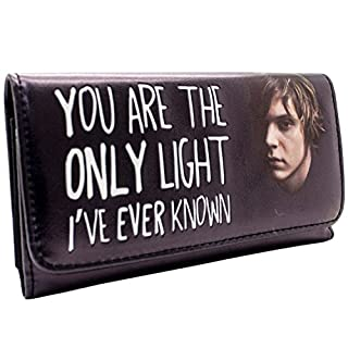 American Horror Story The Only Light Black Coin & Card Tri-Fold Purse