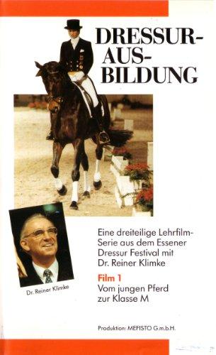Produktbild Dressurausbildung mit Dr. Reiner Klimke: von der Remonte bis zum Grand Prix Special - eine dreiteilige Serie live vom Essener Dressur Festival 1990