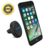 Magnetic Air Vent Phone Holder – JEBSENS CA02 Portable Universal Air Vent Car Mount Cell Phone Holder for iPhone 7/6/6 Plus/5 Nexus 7 Huawei P9 LG Sony Samsung S6/S5 Note 5/4/3 and other Andriod Cellphones (Black)