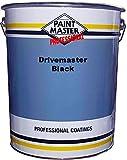 Peinture Sol Pour Bitume 20 Litres -NOIR -Scellant D'asphalte Pour Entrée De Garage