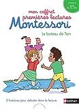 Mon coffret premières lectures Montessori - Le bateau de Tom - Niveau 2 - 4/7 ans -