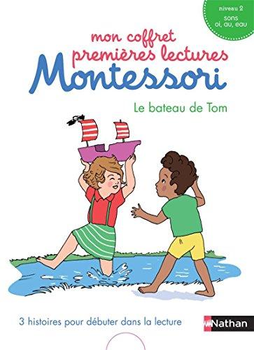 Mon coffret premières lectures Montessori : Le bateau de Tom - Niveau 2 - 4/7 ans - par Chantal Bouvÿ
