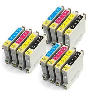Epson Stylus Photo RX520 x12 Compatible Printer Ink Cartridges
