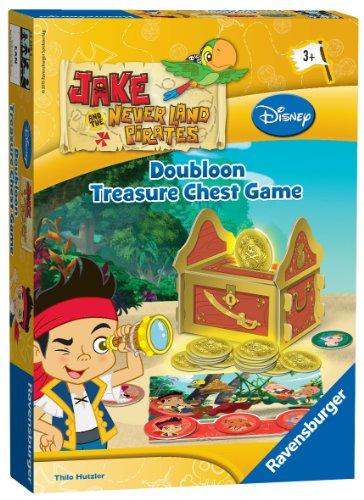 Jake und die Nimmerland Piraten Dublone Schatzspiel (Englische Sprache) [UK Import]