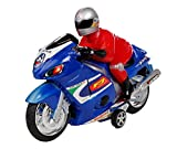 #8: Jiada Friction Powered Racing Bike Toy For Kids - Multicolour