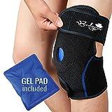 Lot de glace pour genou, pour le support de genou avec gel Pad pour la thérapie chaud et froid