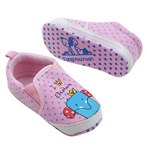 Miyasudy Flâneurs Chaussures Bébé Garçons Filles Coton Automne Printemps Doux Semelle Lit Mocassins Bleu