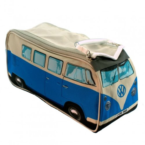 Kulturtasche VW Bus Bulli T1 in blau