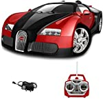 Colour: red introducing the sporty and ultra-modern 1: 18 scaled rechargeable high speed arc Bugatti Veyron. This amazing radio controlled car will provide hours of entertainment for adults and children alike. Its realistic features mean that this ra...