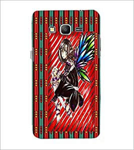 PrintDhaba Sweet Girl D-3084 Back Case Cover for SAMSUNG GALAXY GRAND PRIME (Multi-Coloured)