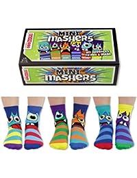 trendaffe Oddsocks Mini mashers Calcetines en Juego de 6 – Calcetín, ...