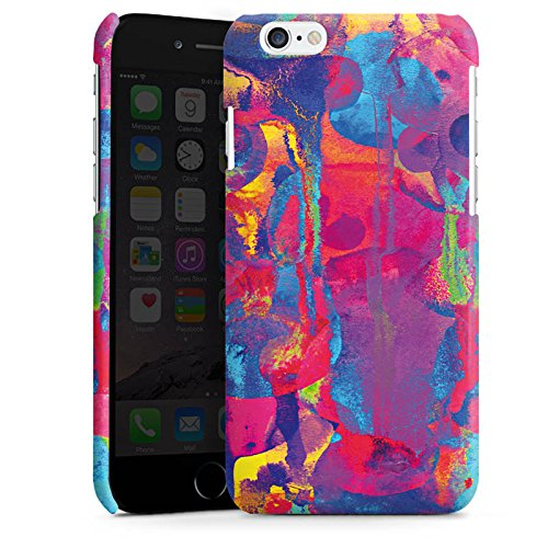 Apple iPhone 6 Housse Étui Silicone Coque Protection Explosion de couleurs Couleurs couleurs Cas Premium brillant