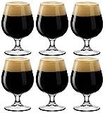 BORMIOLI ROCCO Lot de 6 Verres sur Pied à bière, 53cl
