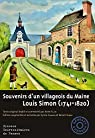 Souvenirs d'un villageois du Maine: Louis Simon par Simon