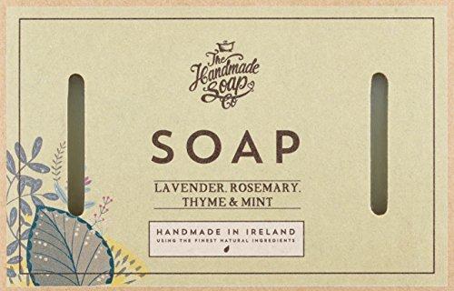 Seife Rosemary Mint (The Handmade Soap Lavender, Rosemary, Thyme & Mint Seife 160g)