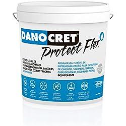 DANOCRET PROTECT FLEX 15Kg Membrana elástica impermeabilizante DANOSA