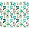 Tissu 100 % coton Motif d'animaux Tissu pour enfant vendu par pièce d'un mètre 100 x 160 cm