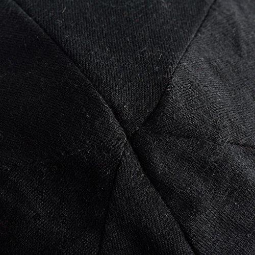 ZXCV Chapeau Automne-Hiver Chapeau Femmes Coton Chapeau Baotou Coréen Sur Le Chapeau Chapeau Hip-hop ( couleur : B , edition : Mince ) B