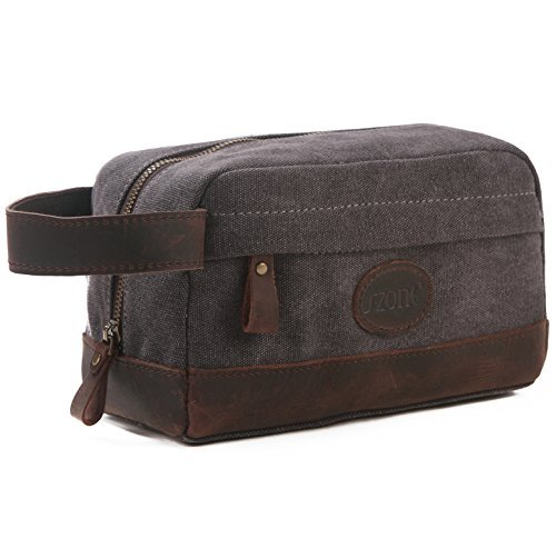 s-zone-vintage-leather-trim-canvas-toiletry-bag-shaving-dopp-case-cosmetic-makeup-bag