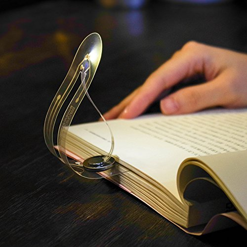 Leselampe Lampe kleine Buchlampe Superdünn Lesezeichen Leselicht flexibel Buch Lesen Led Leselampe