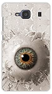 Crazy Beta EYE LOOKING DESIGN Printed Back Cover For Redmi xiaomi 2