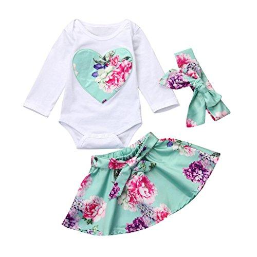 Conjunto Ropa, Zolimx Recién Nacido Bebé Niña Floral