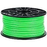 NuNus PLA Filament 1kg (Selbstleuchtend-Grün, 3.00mm) Premium Qualität für 3D Drucker MakerBot...