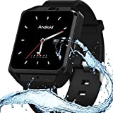 XIAYU Smart Fitness Tracker, Activity Watch Waterproof, Sport GPS Positionierung H5 älteren Telefon Außenhandel Smart Remis Tracking-Positionierung,Silver