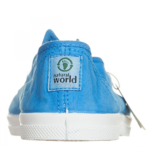 Natural World  Nw-102e_659bt_36, Baskets pour femme bleu bleu 36 EU Bleu