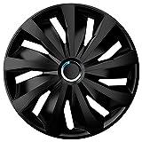 Autostyle Grip Pro Black Jeu d'enjoliveurs 15-inch Noir