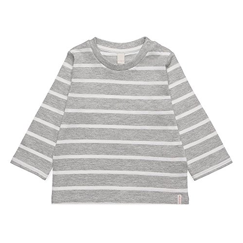 ESPRIT Baby-Jungen Langarmshirt RK10072, Grau (Light Heather Grey 221), 86