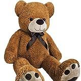 Monzana Teddybär | Größe XXL 175cm |Teddy Kuscheltier Stofftier Plüschbär Plüschtier