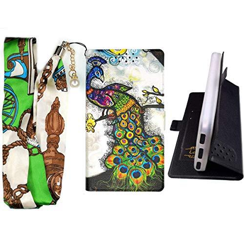 Lovewlb Hülle für Energizer Hardcase H500s Hülle Flip PU-Leder + Silikon Cover Case Fest KQ