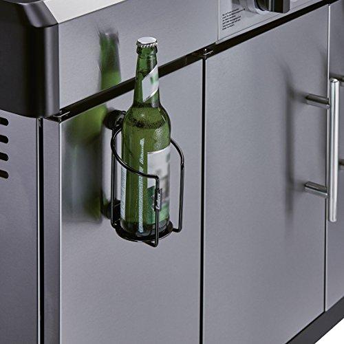 51IdswhXL1L - Enders GRILL MAGS Flaschenhalter 7814, Grill-Zubehör, Gasgrill BBQ, Aufbewahrung, magnetische Halterung, universell einsetzbar